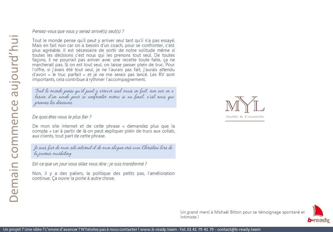 Témoignage client MYL